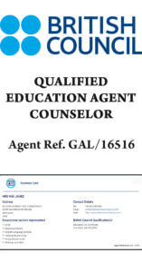British Council Qualified Education Agent